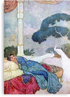 edmund dulac peacocks