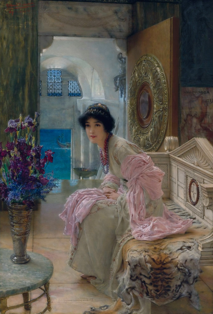 Watching and waiting, by Lawrence Alma Tadema